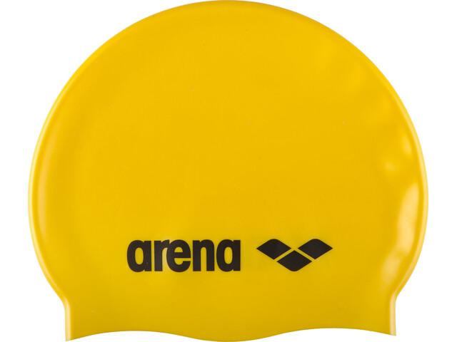 arena Classic Silicone Bonnet de bain Enfant, yellow-black